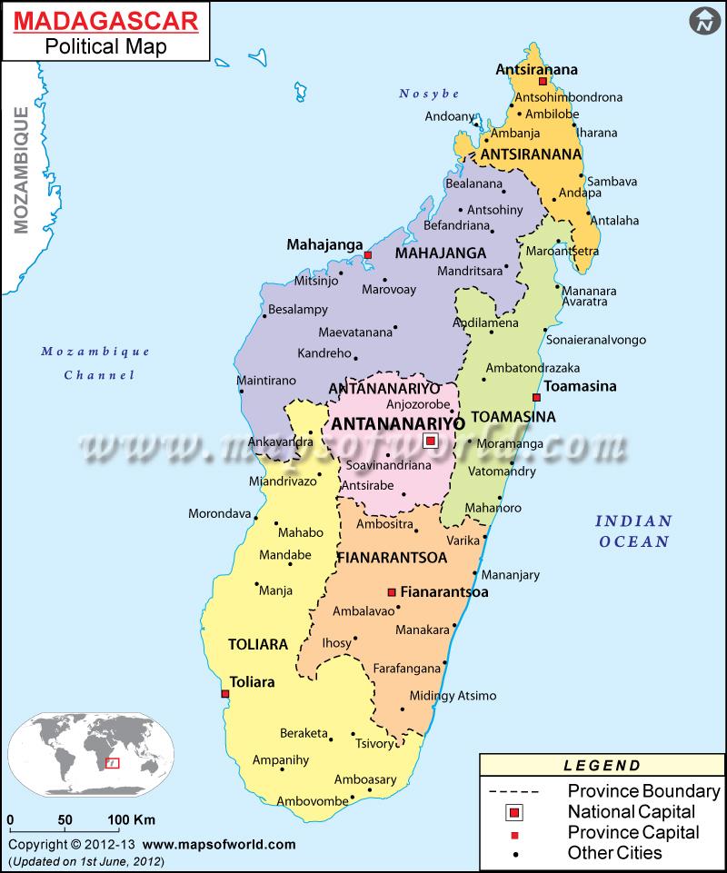 madagascar-political-map